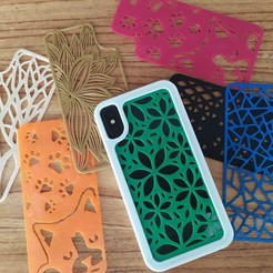 Download 3D printer templates Interchangeable Iphone Case, SOLIDMaker3D