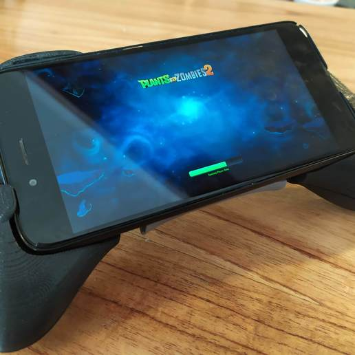 IMG_20191121_170349.jpg Download STL file Gaming Grip for Smartphones • 3D printing template, SOLIDMaker3D