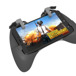 STL files Gaming Grip for Smartphones, SOLIDMaker3D