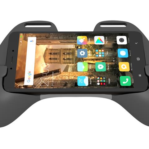 frente cel.png Download STL file Gaming Grip for Smartphones • 3D printing template, SOLIDMaker3D