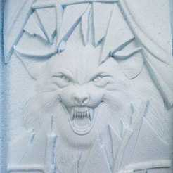 3d model Wolf, Johnbo