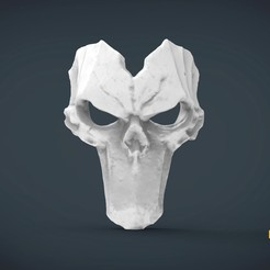 Download 3D printing designs Death Mask darksiders- life size wearable, Helios3D