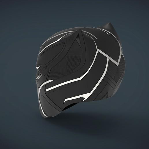untitled.223.jpg Télécharger fichier STL gratuit Casque Panthère noire - portable grandeur nature • Plan pour imprimante 3D, Helios3D