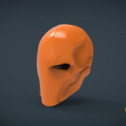 Download 3D printer model Deathstroke Helmet - life size wearable, Helios3D
