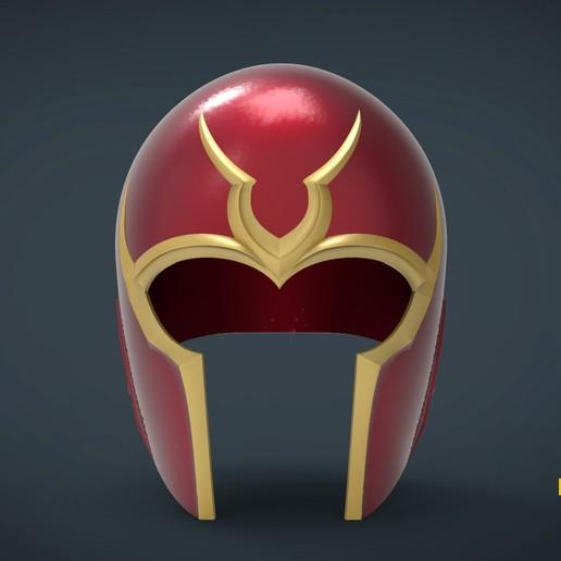Télécharger objet 3D gratuit Magneto jours de l'avenir passé Casque - taille réelle portable, Helios3D