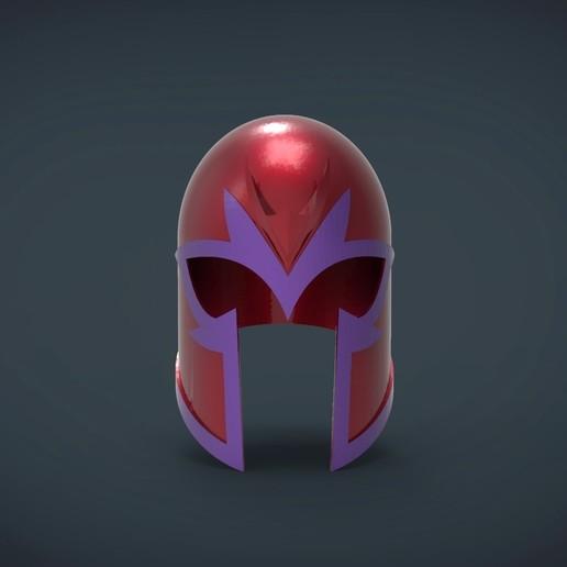 Télécharger fichier STL gratuit Magneto xmen Casque de première classe - portable en grandeur nature, Helios3D