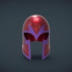 Imprimir en 3D gratis Casco Magneto xmen first class Helmet - de tamaño natural, Helios3D