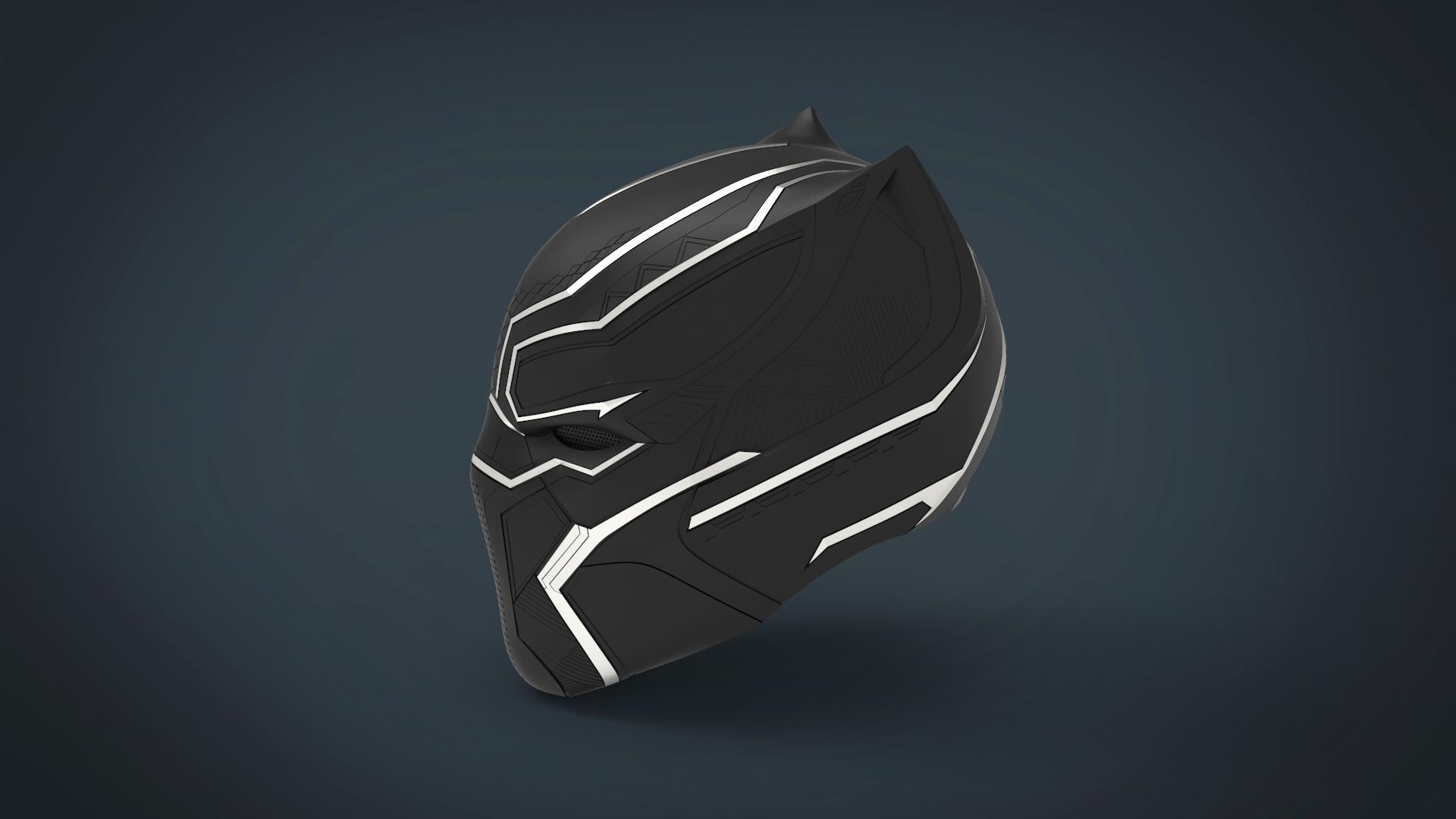 untitled.222.jpg Télécharger fichier STL gratuit Casque Panthère noire - portable grandeur nature • Plan pour imprimante 3D, Helios3D