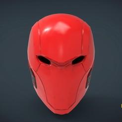 Impresiones 3D gratis Casco Capucha Roja - de tamaño natural, Helios3D