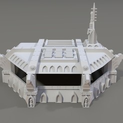 Download 3D printer templates Bunker of the Holy Eagle, pipewankenobi