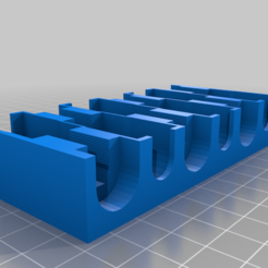 hex-socket-tray.png Download free SCAD file Hex Key Socket Tray • Object to 3D print, coderxtreme