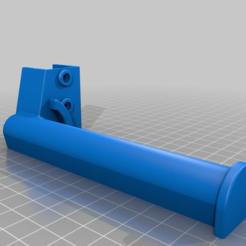 spool-holder-1inch-longer.png Télécharger fichier SCAD gratuit Un support de bobine de filament plus long pour Kossel 2020 • Modèle pour impression 3D, coderxtreme