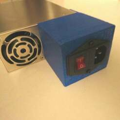 IMG_2301.JPG Download free SCAD file Meanwell SE-600-12 AC  Power Supply Cover • 3D print design, coderxtreme