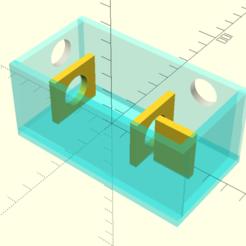 openscad_xLO3SokAM4.png Télécharger fichier SCAD gratuit Cas du répéteur infrarouge • Objet pour impression 3D, coderxtreme
