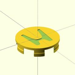 honda-cap.png Télécharger fichier SCAD gratuit Encart sur les roues Honda • Modèle à imprimer en 3D, coderxtreme