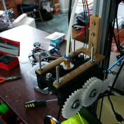 IMG_20150304_130439[2.jpg Download free SCAD file Kossel 2020 (mini) extruder mount fits Steve's Extruder (seemecnc) • 3D printer template, coderxtreme
