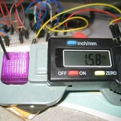 IMG_5075.jpg Télécharger fichier SCAD gratuit Insert de mesure de filament pour jauge d'épaisseur numérique • Objet à imprimer en 3D, coderxtreme