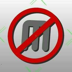 Untitled-1.jpg Télécharger fichier SCAD gratuit Logo anti-Makerbot • Objet à imprimer en 3D, coderxtreme