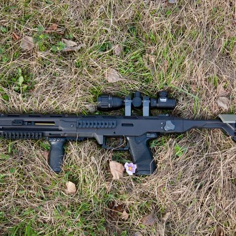 Mk23 Carbine Kit 3d printed