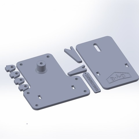 b65d17f387098e502b0069e1b81221bb_display_large.JPG Download free STL file Bungee launcher pedal - 3d printed version • 3D printer design, badassdrones