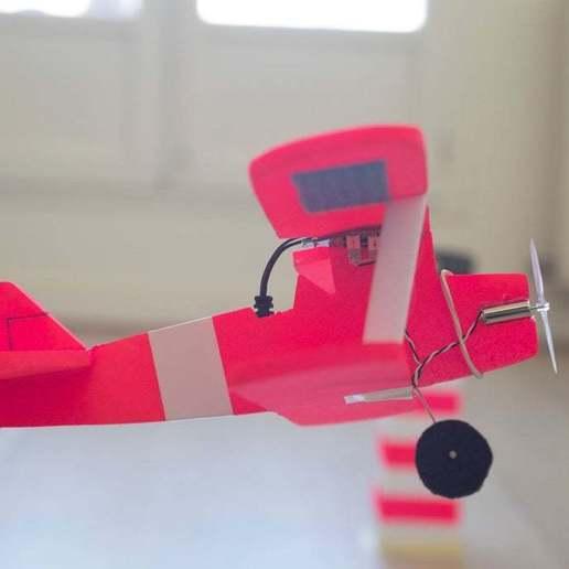 Download free STL file TINY AIRPLANE - STEARMAN • 3D printer object, badassdrones