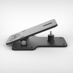 67c64cac5470b7e443137acbc3a93592_display_large.jpg Download free STL file Bungee launcher pedal - 3d printed version • 3D printer design, badassdrones