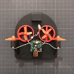 3220c55c8868e1f1cea6cbb21aa105c1_preview_featured.jpg Download free STL file TINYWHOOV FULL 3D PRINTED VERSION (V4) • 3D printer object, badassdrones
