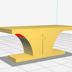 Download 3D printer templates church altar, lucasjc