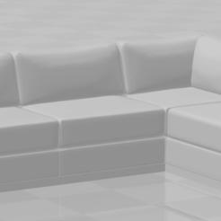 Descargar archivo 3D sofa en l izquierda y derecha esc 1-50, lucasjc