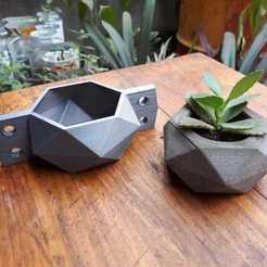 Download STL file cement pot mould (A1 80X80X45MM) • 3D printer design, lucasjc