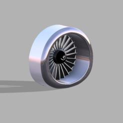 cfm.PNG Télécharger fichier STL Maquette du moteur Boeing 737 CFM-56 • Objet imprimable en 3D, ClawRobotics