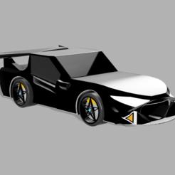 sazx.PNG Télécharger fichier STL Modèle de voiture de sport de luxe • Plan à imprimer en 3D, ClawRobotics