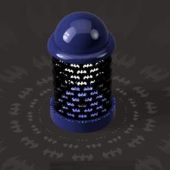 batman3.png Download STL file Batman Lamp • 3D printer model, ClawRobotics