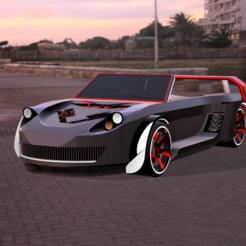 xcz.PNG Télécharger fichier STL Modèle de voiture de sport de luxe • Plan à imprimer en 3D, ClawRobotics