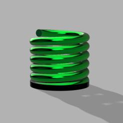 cx.PNG Télécharger fichier STL Modèle de vase en spirale - FACILE A IMPRIMER SANS SOUTIEN • Plan imprimable en 3D, ClawRobotics