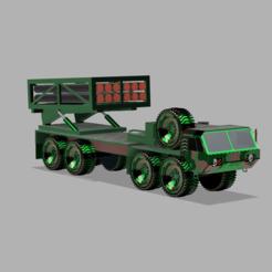 vcscx.PNG Télécharger fichier STL Modèle 3D d'un camion militaire • Plan pour impression 3D, ClawRobotics