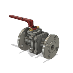 1.PNG Download STL file Water Valve • 3D printing object, ClawRobotics