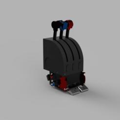 fgvbdfca.png Download STL file Boeing 737 Cut-off Levers Module for Saitek Throttle Quadrant • Template to 3D print, ClawRobotics