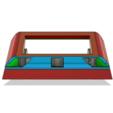 Descargar archivos 3D Mini Sumo Robot (PRO) Sólo para ganadores, ClawRobotics