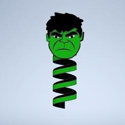 Download 3D printer designs Marvel Hulk Cable Cover-Saver, ClawRobotics