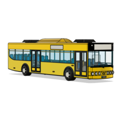 123.PNG Download STL file City Bus • Object to 3D print, ClawRobotics