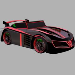 szxz.PNG Télécharger fichier STL Modèle de voiture de sport de luxe • Plan à imprimer en 3D, ClawRobotics