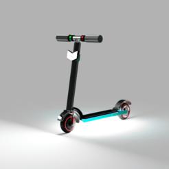sdac.png Télécharger fichier STL Modèle de scooter • Design pour impression 3D, ClawRobotics