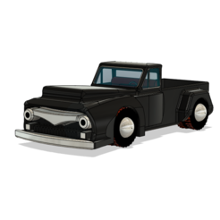 Download 3D printing files Nostalgia Old Ford Car, ClawRobotics