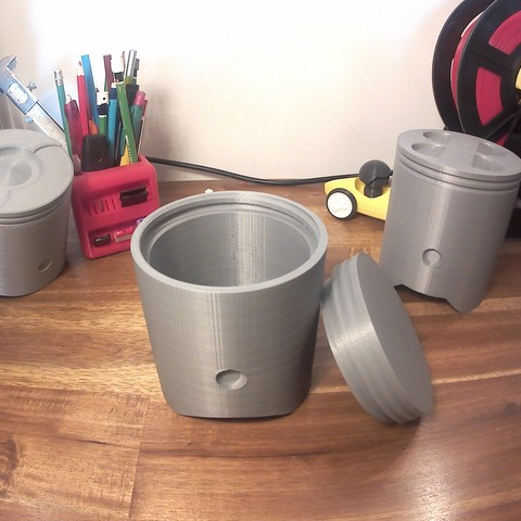 20180906_221053A.jpg Download STL file Boxes in the shape of pistons • 3D print object, Monkey3D