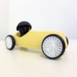 Fichier STL gratuit The Vintage Race Car, Monkey3D