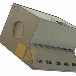 MultiRoll Sandpaper Box.JPG Download GCODE file Multi-Roll Sandpaper holder • 3D print design, steve8