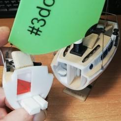 dormitorio baño.jpg Télécharger fichier STL Voilier TIGER 25 Westerly • Plan à imprimer en 3D, albertvivescarbonell
