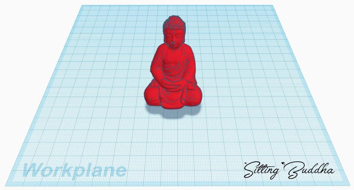 Sitting Buddha.jpg Télécharger fichier STL gratuit bouddha assis • Plan imprimable en 3D, stevenve