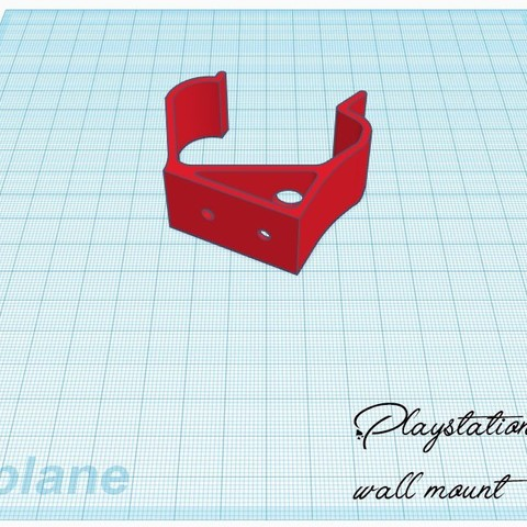 Impresiones 3D gratis controlador ps4 para montar en la pared, stevenve